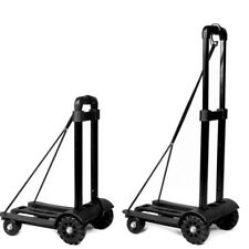 170lbs Portable Folding Hand Cart Dolly Push Luggage Truck Moving Cart 4 Wheels