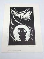 Grafik, Scherenschnitt-Zyklus, Ernst Heinemann, 1930, Medea