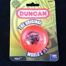 Duncan Orange Neo Imperial Yo-Yo New on Card Sealed 3436PK 1999 Vintage