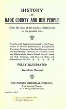 1917 DADE County Missouri MO, History and Genealogy Ancestry Family Tree DVD B23