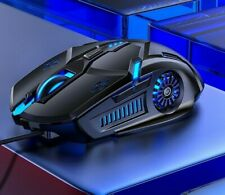 LED Gaming Mouse 3200Dpi Wired Mouse 6D 4-Speed DPI RGB Gaming Mouse