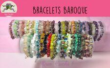 Bracelet Baroque Pierres Fines au Choix