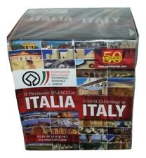 The Unesco IN Italy Box 50 Packs Stickers panini