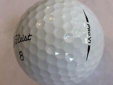 24 Titleist Pro V1 2018 ProV1 AAAAA Mint Golf Balls Free Tees