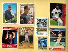 BARRY BONDS . Baseball cards. 1987-93 *Build your own lot * OPC.  ROOKIE,Oddball