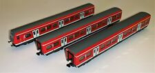 3 x Minitrix N Gauge S-Bahn Carriages of the DB Regio Business Area