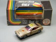 siku Auto REI Brasilien Opel GT mit Porsche Label mit BOX - schöner Zustand!