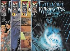 MICHAEL TURNER'S FATHOM KILLIAN'S TIDE #1-#4 SET WITH VARIANT COVERS (NM-)