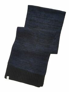 ALFANI Mens Navy Space Dyed Winter Scarf Stay Warm This Winter