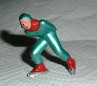 "VINTAGE Barclay Lead ""Man Speed Skater, In Neon Green"" B180 Near Mint F/S Lot I"