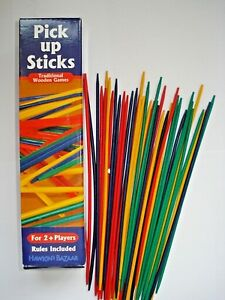 * CHILDREN'S 'PICK UP STICKS' Pick up as many as you can without others moving