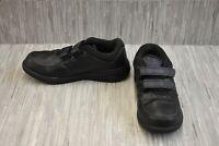 New Balance MW813 Hook and Loop MW813HBK Walking Shoes, Men's Size 9D, Black