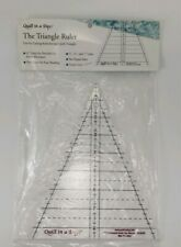 Kaleidoscope Triangle Ruler by Quilt in a Day