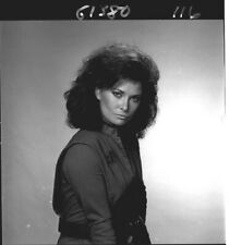 JANE BADLER POUTY PORTRAIT  V THE VISITORS ORIGINAL 1984 NBC TV PHOTO NEGATIVE