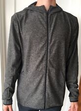 Lululemon Men Size L Surge Warm Full Zip Green Black HUTB Hoodie Jacket NWT