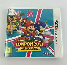 Nintendo 3DS Mario & Sonic at the London 2012 Olympic Games, New Factory Sealed