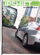 2010 Mitsubishi Lancer Evolution MR Original Car Review Print Article J555