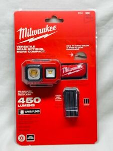 Milwaukee 2104 Spot/Flood Alkaline Headlamp New