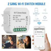 Tuya Smart 2.4G Wifi DIY Dimmer Modul für Alexa Google Assistent Voice Kontrolle