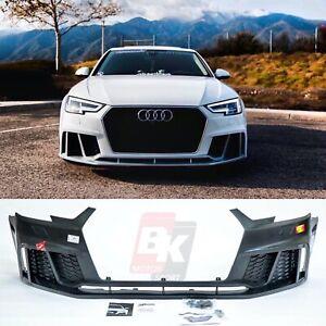 CARACTERE 2017+ AUDI A4 / S4 B9 RS4 STYLE front bumper set