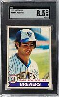 1979 O-PEE-CHEE #8 Paul Molitor SGC NM-MT 8.5 Milwaukee Brewers Rookie Card