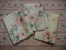 Rare Ralph Lauren Therese Sateen Floral King Pillowcase Elegant Romantic 3 AVL