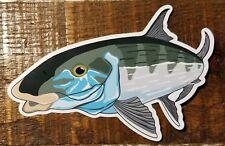 "Fishing Bumper Stickers BONEFISH 5 1/2"" x 3 1/2"" decals saltwater fly fishing"