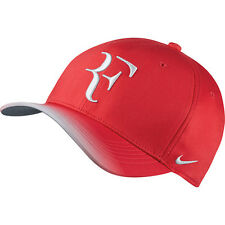New NIKE AEROBILL ROGER FEDERER Hat RF TENNIS Cap 868579-660 Action Red