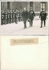 Le prince Paul de Yougoslavie à Paris Vintage silver print,Paul de Yougoslavie