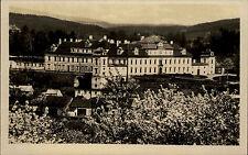 Rychnov nad Kněžnou Reichenau Tschechien s/w AK ~1950/60 Blick auf das Schloss