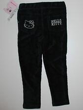 Cord Hose~USA~92-98~Hello Kitty~schwarz-Cordhose~Kinderhose~Neu~Amerika~Katze