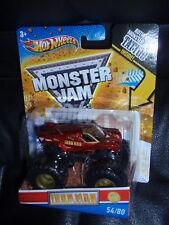 Hot Wheels Monster Jam  IRON MAN 54/80 Tattoo Series