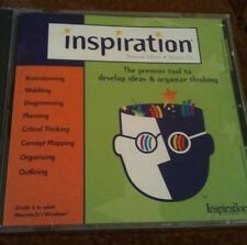 Brand New Inspiration Software Personal Edition 7.6 in Sealed CD Case 6-Adult