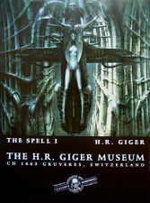 HR Giger, THE SPELL I, Original Museums Poster