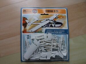 Sealed Airfix 1/72 Scale Cessna 0-2A Aeroplane Series 1 Kit In Box Dated 1973