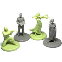 Lot 4 pcs game people Figure From Dungeons & Dragon D&D Marvelous Miniatures toy