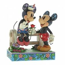 Mickey & Minnie Mouse Blossoming Romance Disney Traditions Figurine