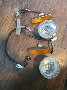 SUZUKI AERIO FOG LIGHT LH & RH DRIVER 2002-2004 OEM DRIVER..plus markers