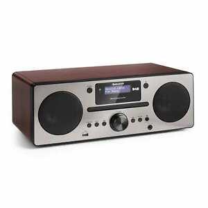 Micro Stereoanlage DAB+ Digitalradio USB CD Player UKW Tuner Lautsprecher Wecker