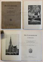 Kühn Die Lukaskirche in Dresden 1904 illustriert Kirchengeschichte Sachsen xz