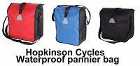 WATERPROOF Pannier Bag Shoulder man ladies bag Bike Bicycle School Work Business