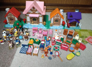 Animal Crossing Series Let's Make a Forest House A set of figures and furniture