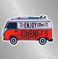Enjoy The Journey Vinyl Decal Sticker Car Truck Laptop VW Camper Van 16 Hippie