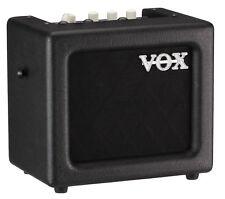 Vox Mini3 G2 Black Gitarren Verstärker E-Gitarren Combo 8 Effekte 3 Watt Gurt