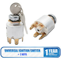 Universal Ignition Switch & 2 Keys Boat Car Classic/Kit Car Boat 7 pins 12V AU