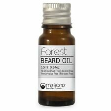 Beard Oil Organic men Growth Solution Contains Vitamins & Minerals 10 ml oz Ne