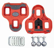 2017 Genuine New in Box LOOK KEO Grip Cleats Red 9 Degree Float
