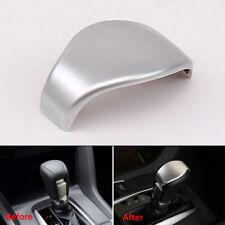 For Honda Civic 16–2018 Chrome Gear Shift Knob Panel Frame Trim Cover Molding