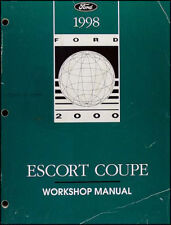 1998 Ford Escort ZX 2 Coupe Repair Shop Manual 98 ZX2 Original OEM Workshop Book