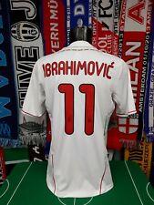 Maglia Calcio Milan Away 2011/12 Ibrahimovic Size M Adidas Fly Emirates Jersey